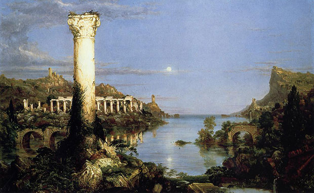 Thomas Cole, The Course of Empire: Desolation, 1836