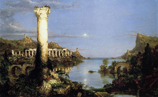 Thomas Cole, The Course of Empire: Desolation, 1836